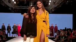 Shahin Mannan showcases her collection at Bombay Times Fashion Week