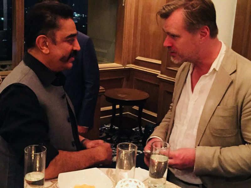 Christopher Nolan meets Kamal in Mumbai