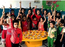 School children celebrate fruit day to spread health awareness