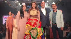 INIFD showcases their collection at Bombay Times Fashion Week