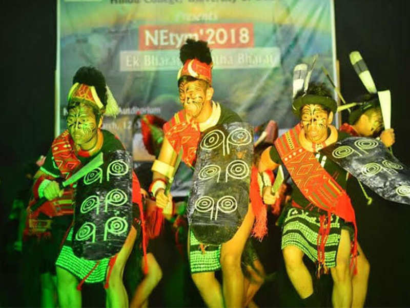 <p>A cultural performance was presented by the students of the Northeast cell of Hindu College<br></p>