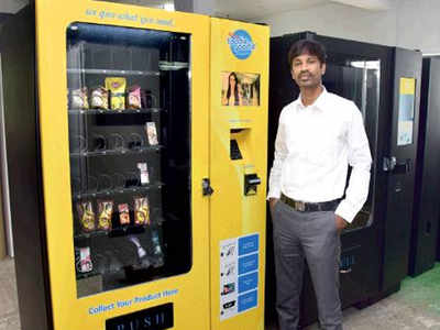 uday express: Vending convenience via customised machines | Chennai News -  Times of India