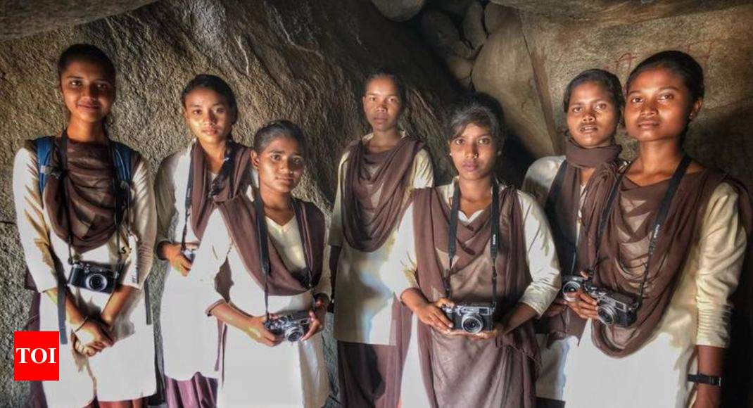 Image result for 7 rural girls' bid to get a photo-perfect frame