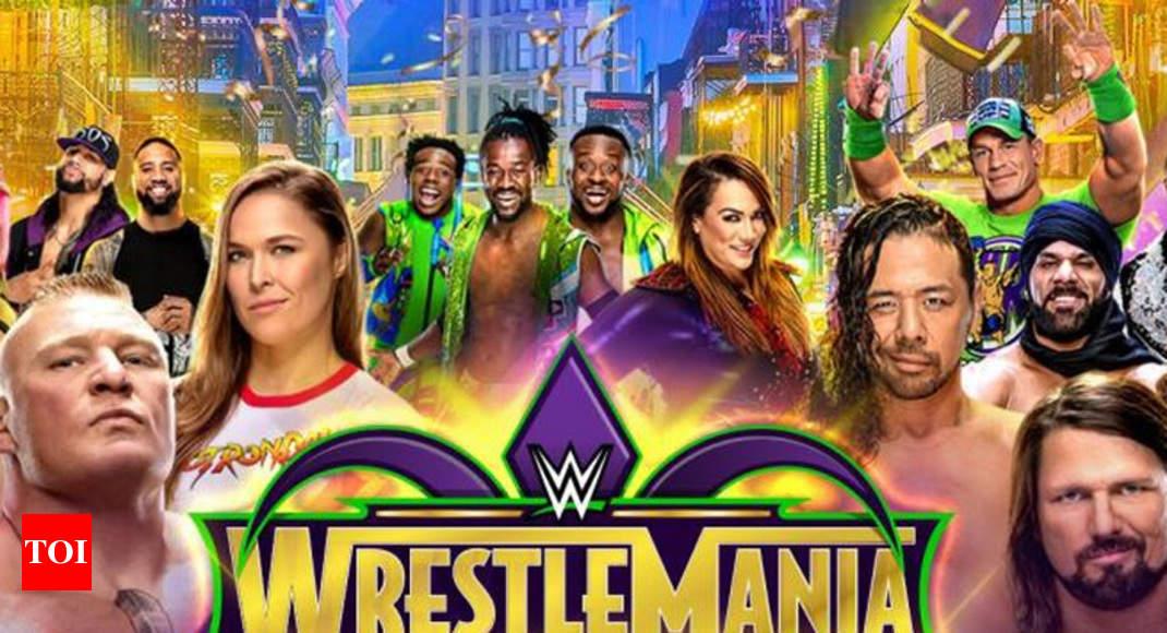 Wwe Wrestlemania 34 Full Results Brock Lesnar Retains