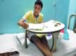 Boy with luekaemia sits for exam from hospital in Kolkata