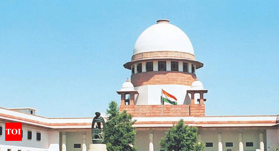 SC: CJI 'first among equals', alone entitled to assign cases - Times of India