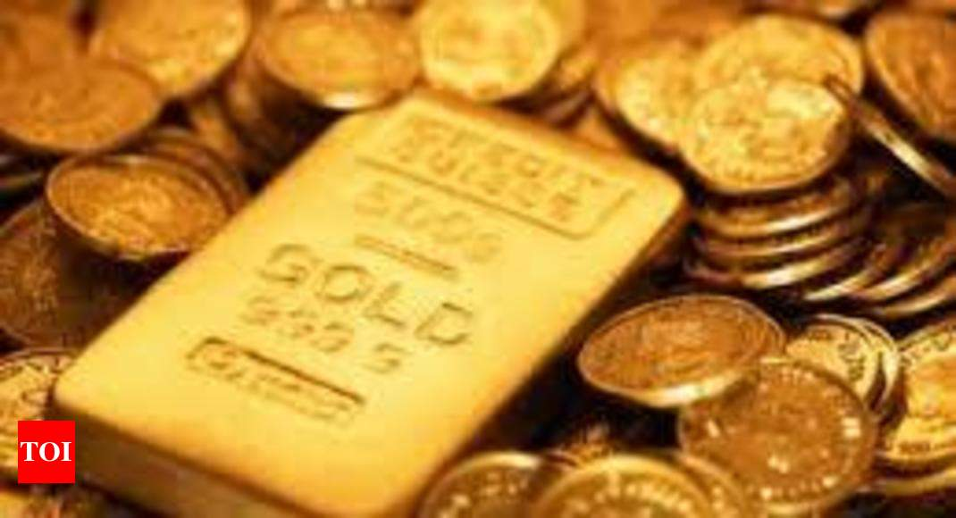 Gold Price Today Weakens On Lower Demand Silver Slips Times Of India