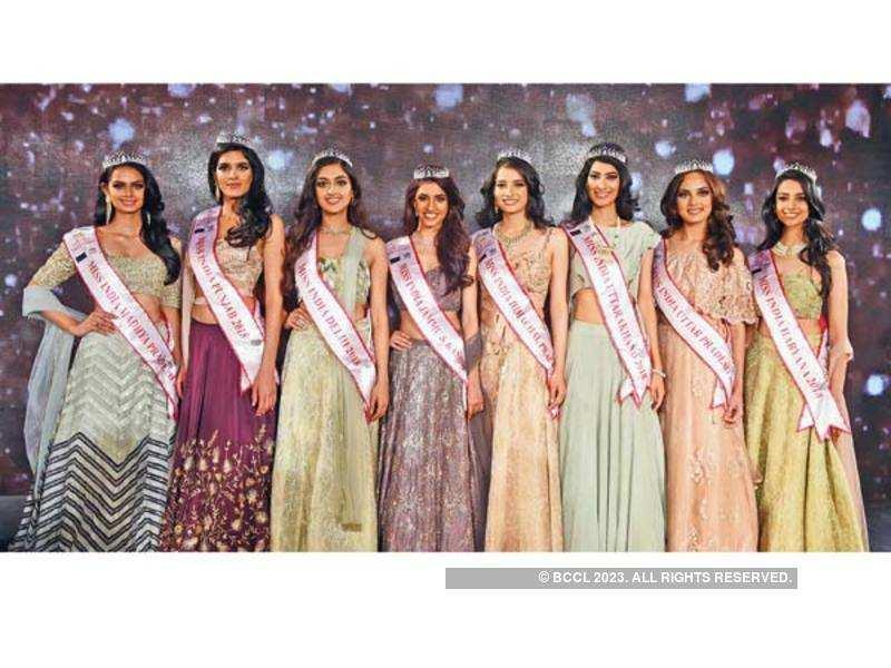 Winners of fbb Colors Femina Miss India North 2018