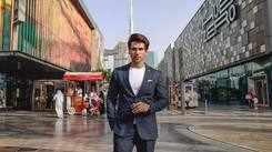 Altamash Faraz visits Abu Dhabi in style