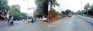 Shoddy work leaves DP Road uneven, draws ire from Karve Nagar locals
