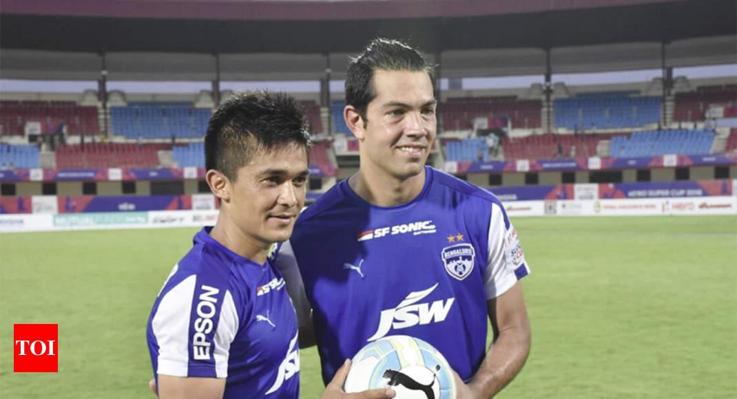 d96d3ec62 bengaluru fc  Miku hat-trick propels Bengaluru FC to Super Cup final ...