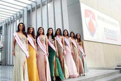 Miss India North 2018 winners put up a grand show at Bennett University