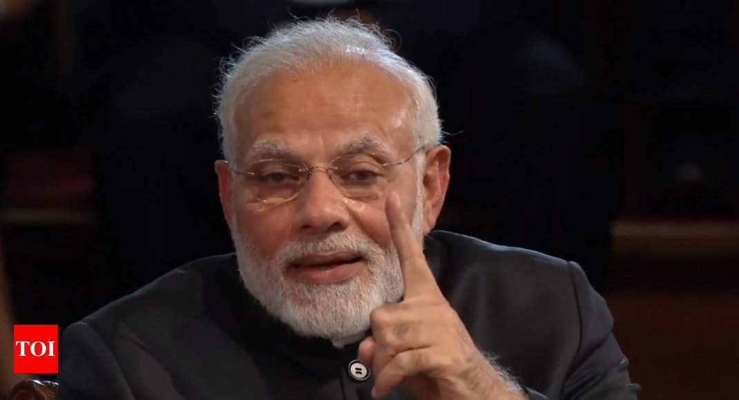 At  Bharat ki Baat  event, PM