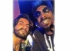 Pic: Ranveer with American rapper Snoop Dogg