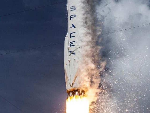 SpaceX rocket launched from Florida carrying NASA planet-hunting telescope