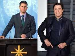 Tom Cruise and John Travolta 'fighting' over high rank in Scientology