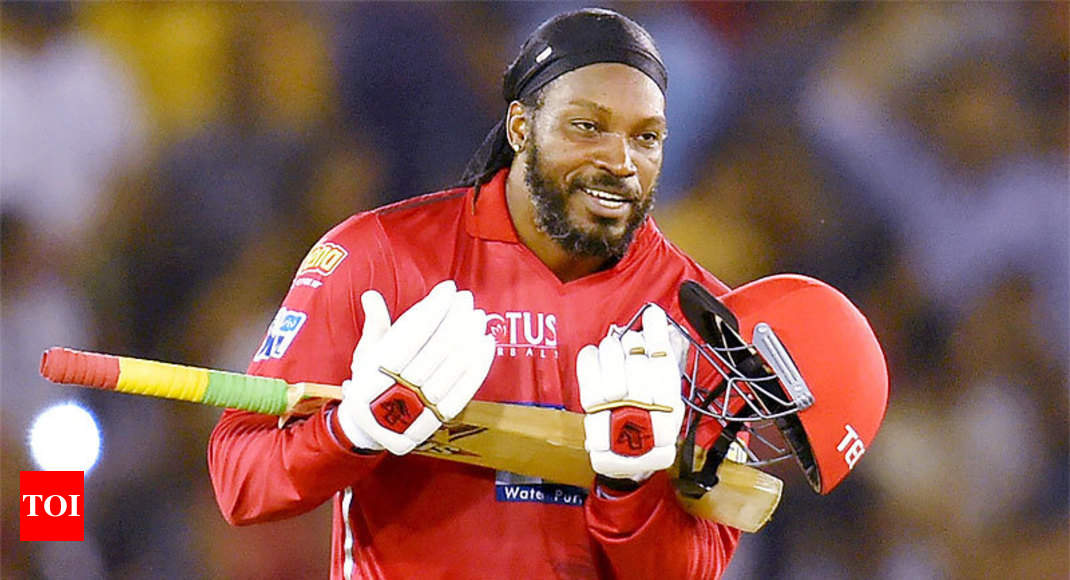 Virender Sehwag saved the IPL by picking me: Chris Gayle - Times of India
