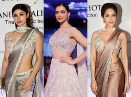 Who wore what at Manish Malhotra's show