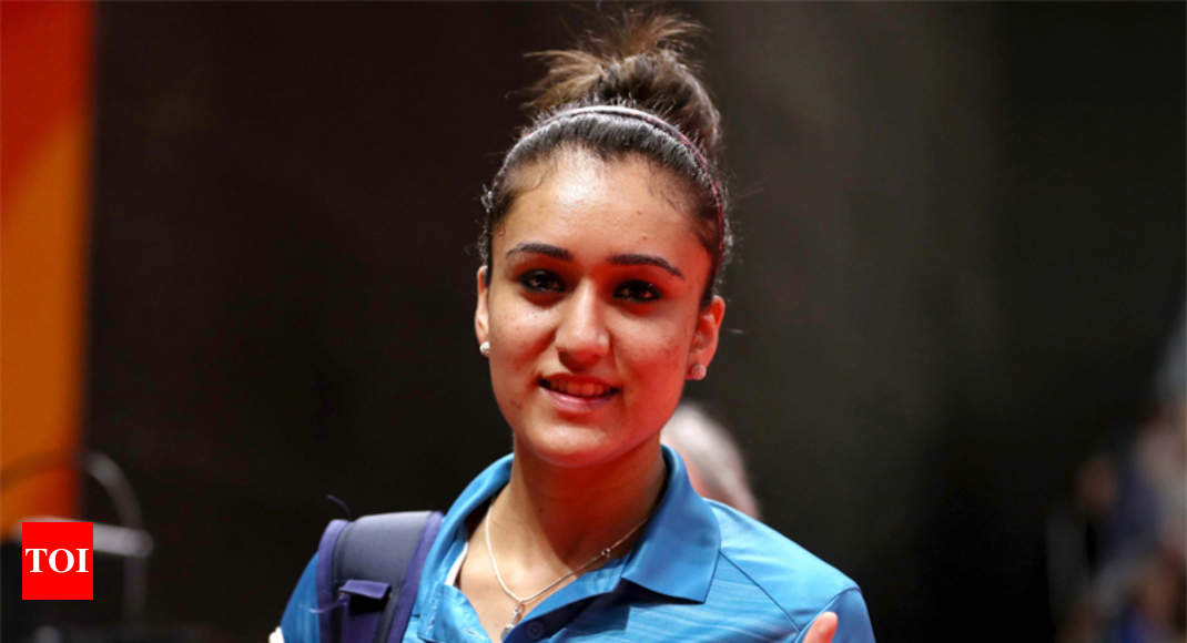 CWG star Manika Batra recommended for Arjuna Award - Times of India