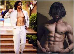 Shashank Vyas flashes his sculpted abs