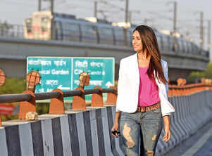 Nikita:I am home before 7pm when in Delhi