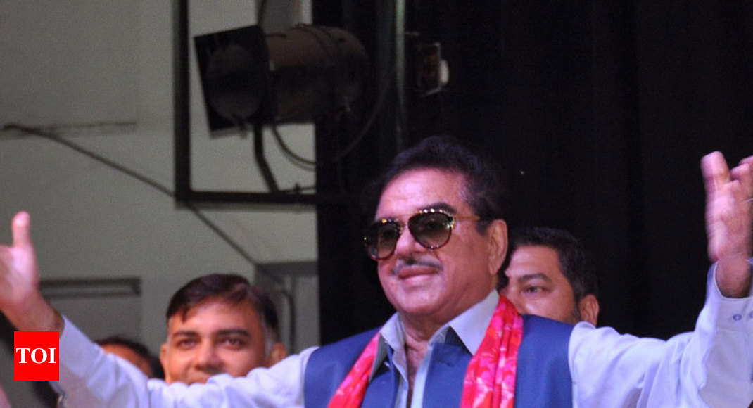 Shatrughan dares BJP to take action against him, but warns of reaction like Newton's third law - Times of India