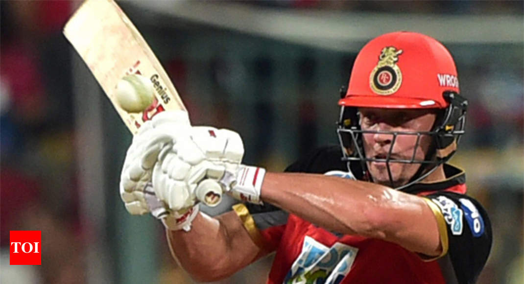 IPL 2018: AB de Villiers fashions Royal Challengers Bangalore's win over Delhi Daredevils - Times of India