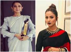 Jennifer, Hina Khan stun at an event