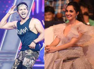 Varun shoots dance number with Kiara Advani