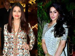 Aishwarya, Sara and more sizzle at a star-studded wedding!