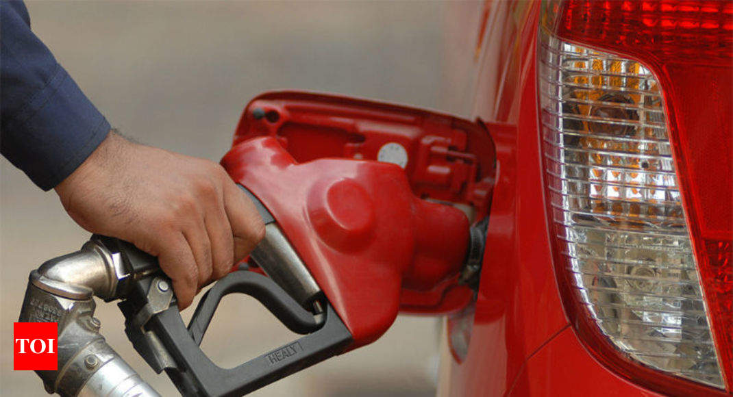 Government not in favour of cut in excise duty on petrol, diesel - Times of India