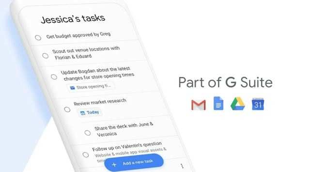 As part of the update, Google has also launched a new app called Google Tasks.