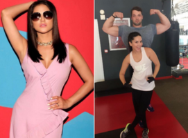 Sunny Leone is the newest fitness ninja!