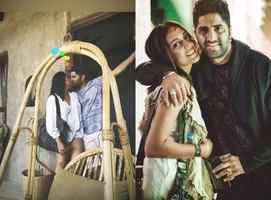 Shveta Salve and Hermit Sethi seal it with a kiss