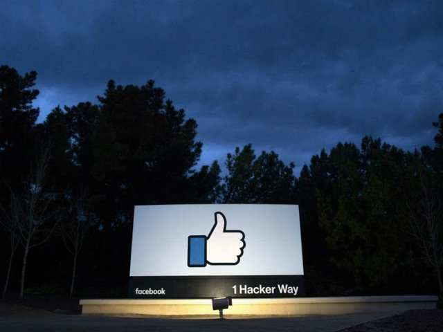 Facebook 'Like' logo.