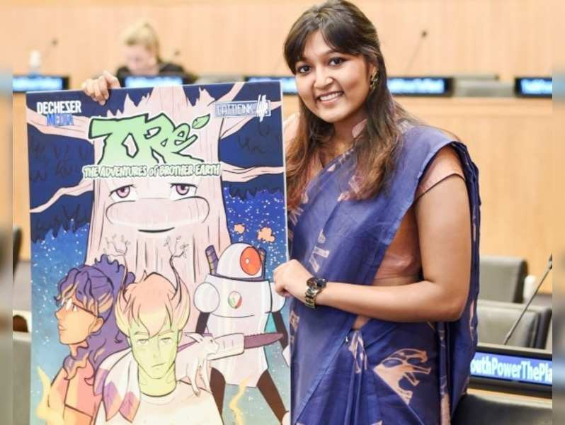 Chennai artist behind the Unicef Climate Change Comic book
