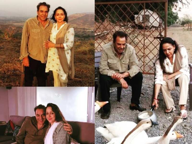 The photos Esha Deol shared of her parents
