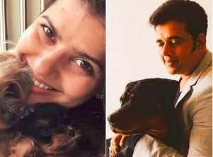 Pictures of famous Bhojpuri celebs with their lovely pets