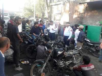 Delhi Police: 'Silence' that's deafening: Cops target bike