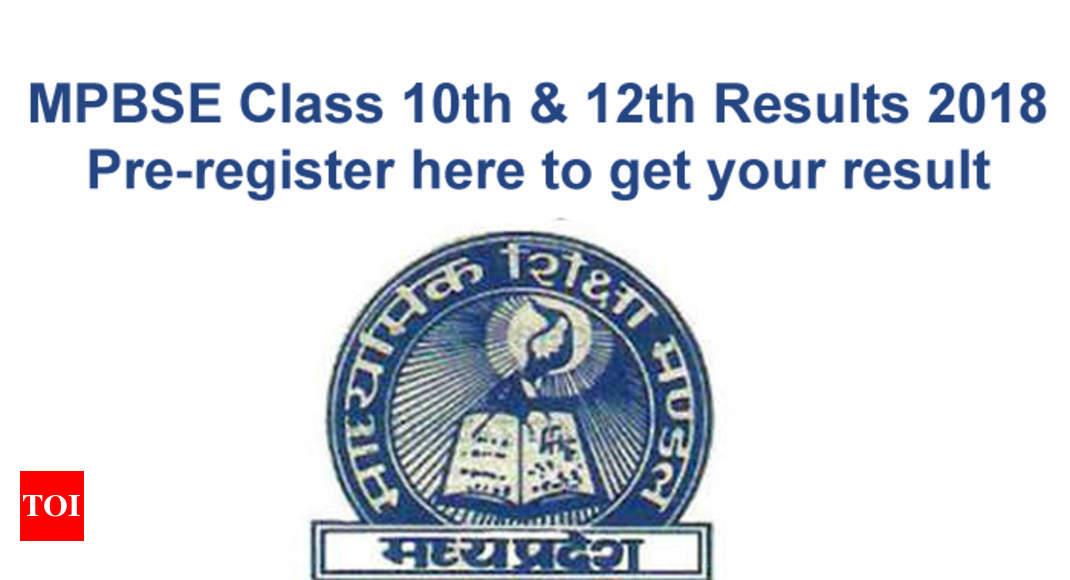 MP Board Result 2018: MPBSE Madhya Pradesh Class 10th, 12th