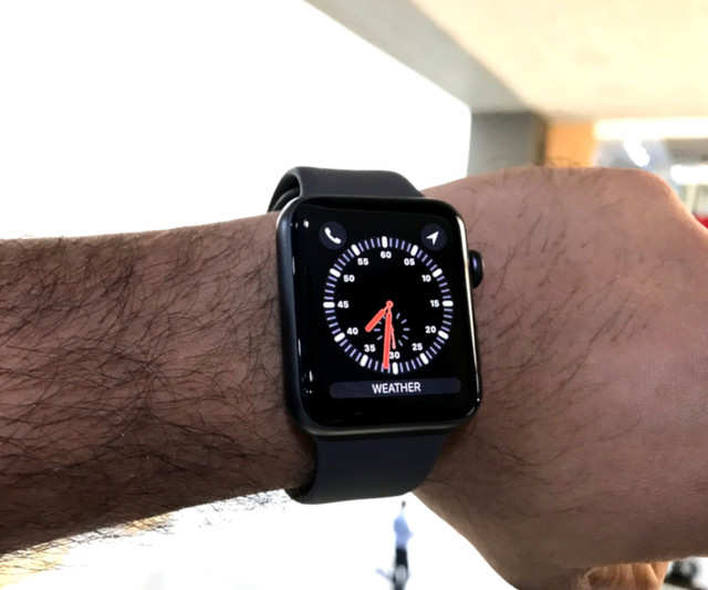 apple watch series 3 42mm price in india