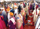 Community wedding, one of a kind ceremony held in Kolhapur