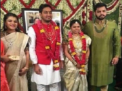 Andhra Pradesh minister Bhuma Akhilapriya gets engaged to