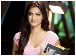 Did you know that Sonam Kapoor's first job was that of a waitress?