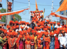 Colourful celebrations on the occasion of Sambhaji Jayanti