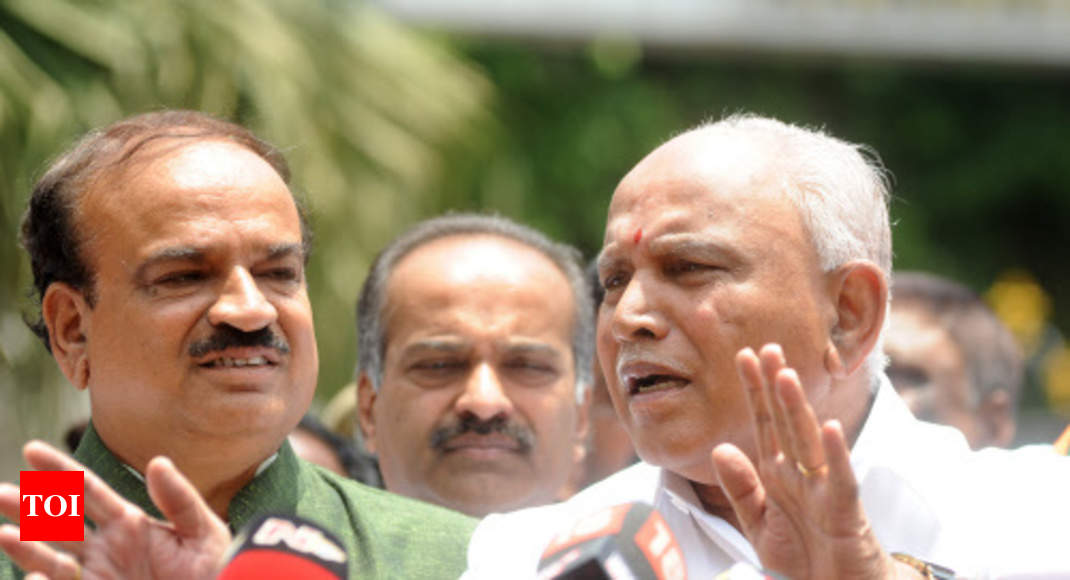SC refuses to stay BSY swearing-in, hearing on Cong-JD(U) plea to continue Friday - Times of India