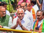 Yeddyurappa sworn in as Karnataka CM