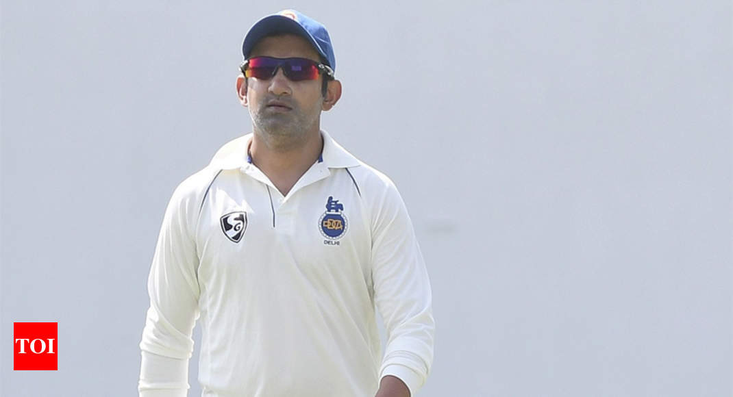 BCCI has not marketed Test cricket well: Gambhir - Times of India