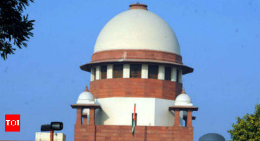 SC notice to Centre on fresh plea seeking to decriminalise gay sex - Times of India