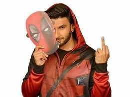 Ranveer Singh thinks fans aren't very far from seeing a true blue Indian superhero